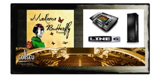 "Ópera ""Madama Butterfly"" com Line 6"