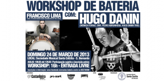 Workshop de Bateria   &#8211;   S.Bernardo | Aveiro