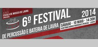 6º FESTIVAL DE PERCUSSÃO E BATERIA DE LAVRA