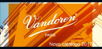 NOVO CATÁLOGO VANDOREN 2017