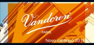 NOVO CATÁLOGO VANDOREN 2018